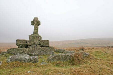 anglo saxon: Childes tomb on high Dartmoor is a place surrounded by legend and myth, it is situated in a desolate area of the moor just to the south east of Foxtor mires and just north of Fox Tor. Legend has it that the original tomb was that of Childe the Hunter, who
