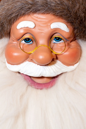Portrait of smiling Santa Claus doll Stock Photo - 18033251