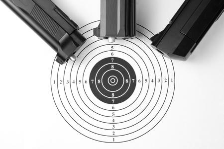Target and air guns Stock Photo - 18071908