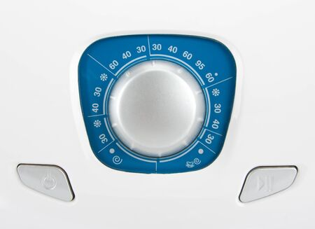 Close-up view of washing machine control panel Stock Photo - 18071758