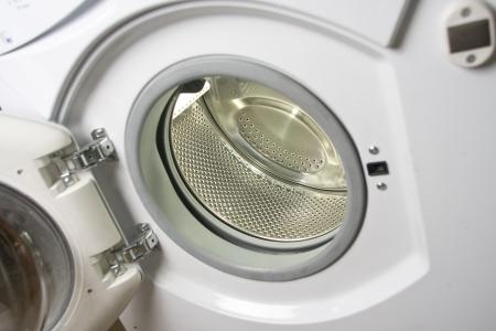 Open door of washing machine Stock Photo - 18103431
