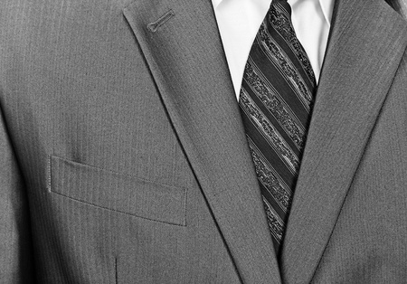Close-up view of businessman formal wear suit Stock Photo - 18195246