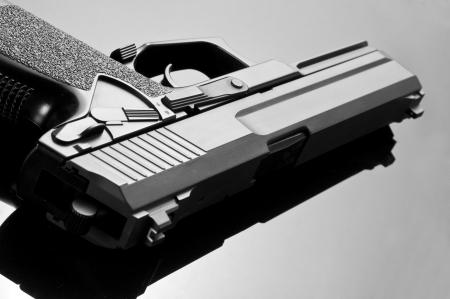 handgun: Handgun. M23 Double Eagle