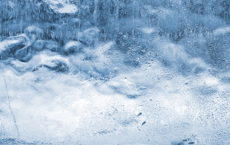 icily: Close-up of blue ice. Use for background