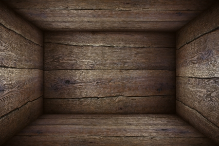 inside of: Inside the old wooden box