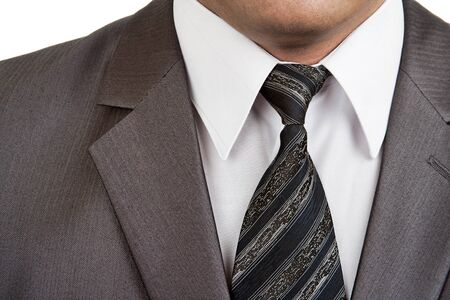 Close-up view of businessman formal wear suit Stock Photo - 18314036