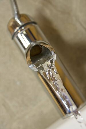 Running faucet photo