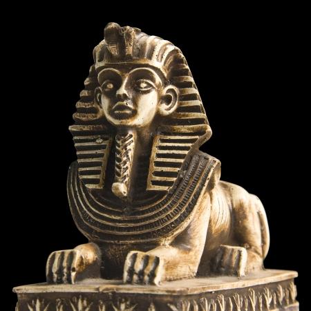 Sphinx: Sphinx. Isolated Stock Photo
