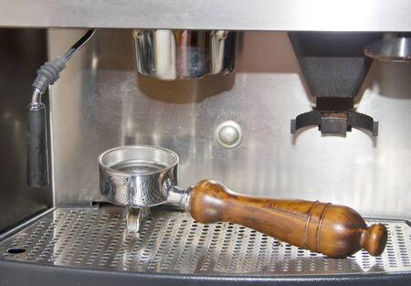 expresso: Coffe machine Stock Photo