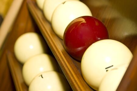Balls for russian billiards photo