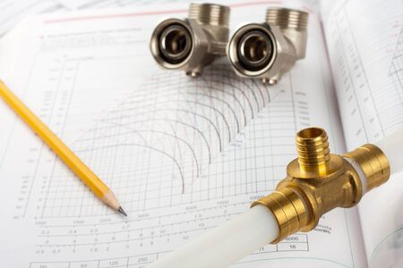 plumbing accessories: Plumbing supplies - pipes, accessories, documentation and valves