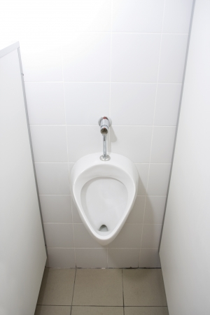 Man's toilet. Urinal photo