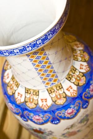 antique vase: Antique chinese vase