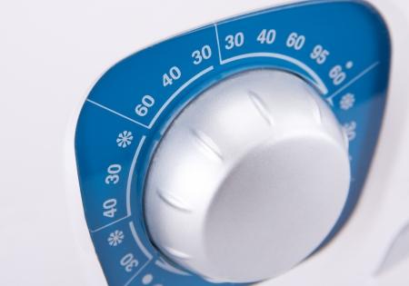 Close-up view of washing machine control panel Stock Photo - 18396873