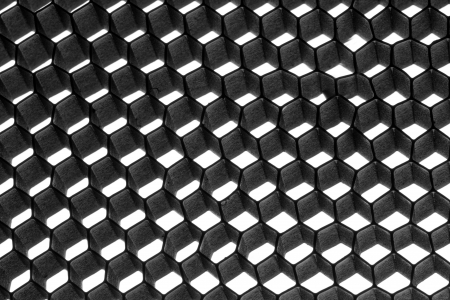 Abstract metallic hexagon mesh. Use for texture Stock Photo - 18482093