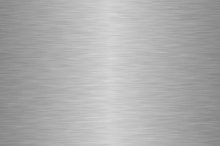 Surface en acier inoxydable. Utilisez pour le fond ou la texture