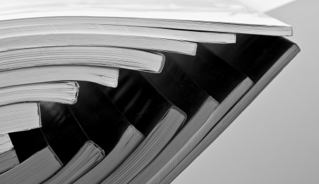 catalogs: Stack of business catalogs
