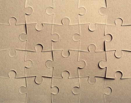 puzzle background: Jigsaw puzzle. Background or texture Stock Photo