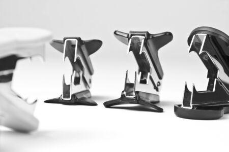office stapler: Stationery war