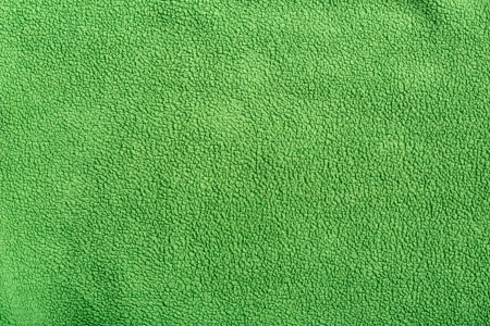 fleece: Green soft synthetic fleece background