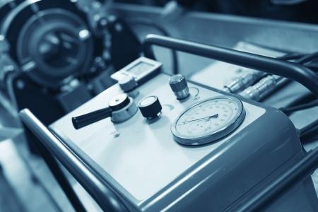 compresor: Primer del compresor a taller Foto de archivo