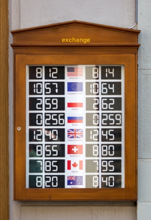 european exchange: Currency exchange - world currency rates
