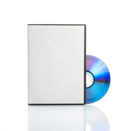 may�sculas: Dvd en blanco con tapa en blanco