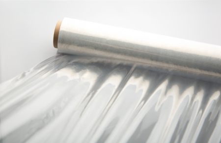 recycle plastic: Wrapping plastic stretch film .