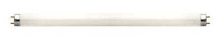 tubos fluorescentes: Lámpara fluorescente aislados en blanco Foto de archivo