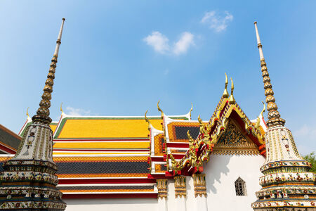 Wat Phra Chetupon Temple, Thailand photo