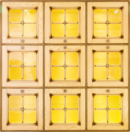 Retro style pattern on wood can use as windows or doors photo
