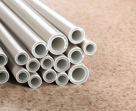 polycarbonate: Industrial plastic pipes various sizes