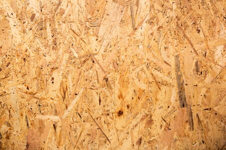 compressed: Closeup of recycled compressed wood chippings board