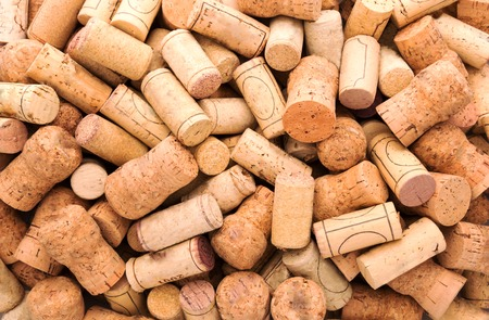 wine industry: A lot of wine corks