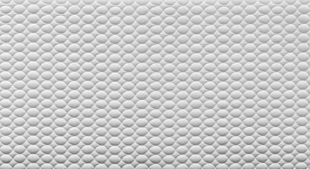 ovals: Abstract white texture with ovals