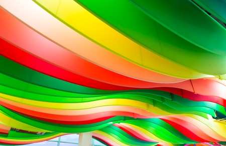 multicolored: Background with lots of multicolored stripes Stock Photo