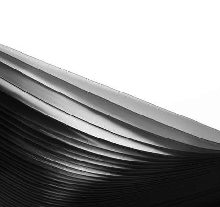 macro: Macro view of abstract paper sheets