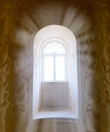 lockup: Beams of sunlight in the window
