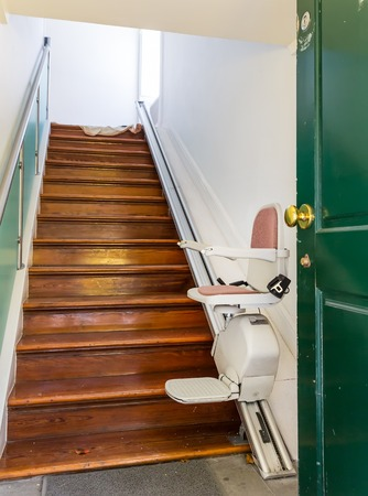 Stairlift for disabled people indoor