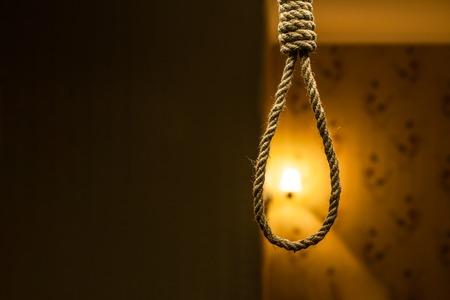 gallow: Suicide rope loop.