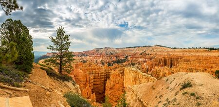 natural bridge state park: Bryce Canyon landscape from the top of mountain