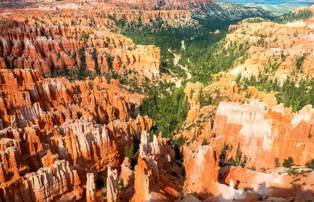 natural bridge state park: Sandstone mountains at Bryce Canyon National Park
