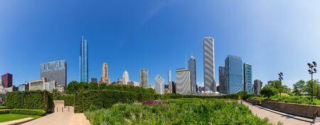 Millenium park Stock Photo