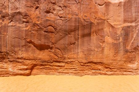 Sands mit Stein Berg Textur Hintergrund