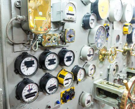 marine ship: Marine museum exhibition on military ship