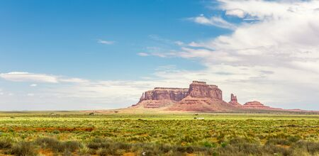 monument valley view: Monument Valley National Tribal Park panorama
