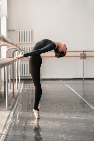 zapatos escolares: Elegante ensayo de ballet en clase