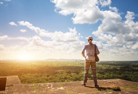 Sigiriya Sri Lanka kingdom, famous tourist place Stok Fotoğraf - 75997439