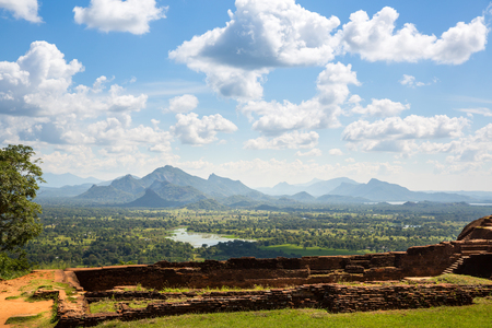 Sigiriya Sri Lanka, buddhist temple ruins