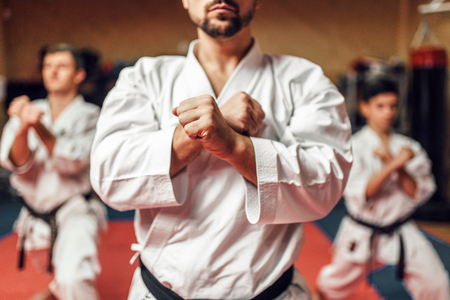 Martial arts fighters hone their skills